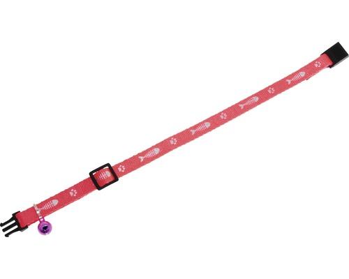 Katzenhalsband Karlie Art Sportiv Fisch 10 mm 30 cm pink