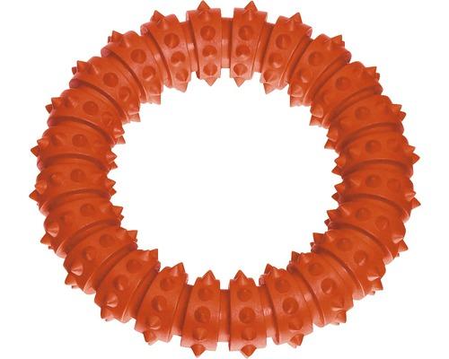 Jouet pour chiens Karlie Boomer Aqua Ring 15cm orange