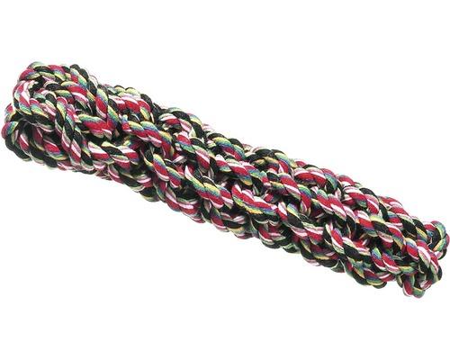 Corde en coton nouée 20 cm, coloré
