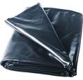 Bâche pour bassin en PVC 0.5mm, 2x3m, noir