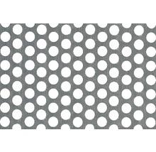 Tôle perforée en aluminium 120x1000x0.8 mm-thumb-0