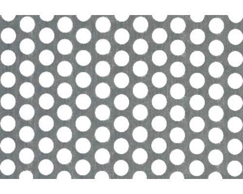 Tôle perforée en aluminium 120x1000x0.8 mm-0