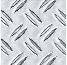 Tôle larmée Aluminium 120 x 1000 x 1,5 mm-thumb-0