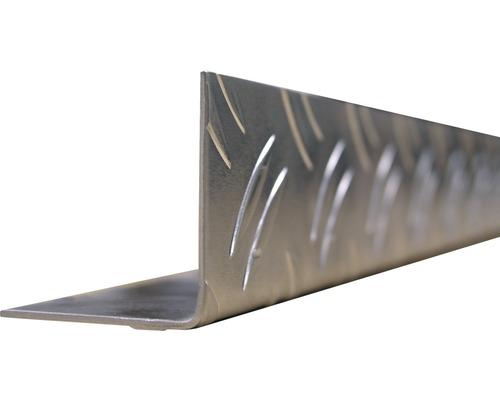 Profilé d''équerre en tôle alu 23,5x23,5, 2 m, isocèle