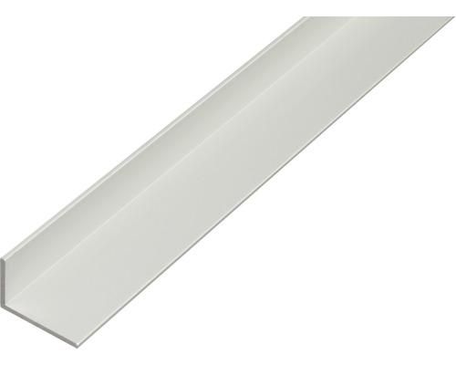 Profilé d'angle Kaiserthal aluminium argent 30x20x2 mm, 1 m