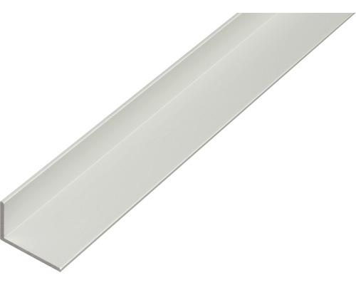 Profilé d'angle en aluminium argenté 30x20x2mm, 2m