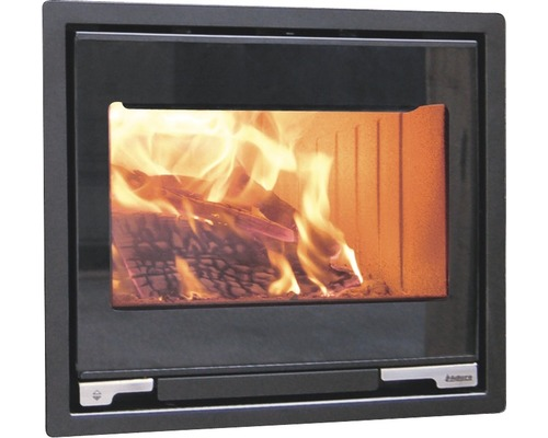 Insert de cheminée Aduro 5-1 en acier noir 7 kW