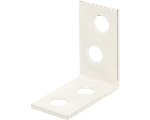 Stuhlwinkel 60 x 60 x 18 mm, weiß, 1 Stück