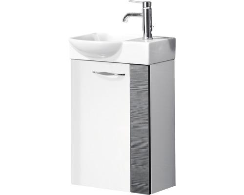 Gäste-Waschtischunterschrank FACKELMANN Sceno 44 cm weiß zerlegt