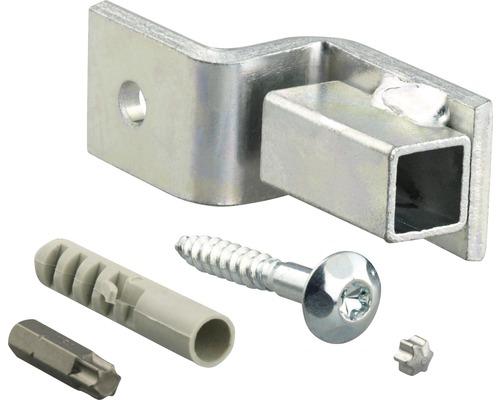 Kit de fixation pour grille galvanisé (extérieur) 12 pces