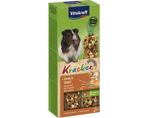 Snack pour rongeurs, Vitakraft Kräcker® au miel pour cochons d''Inde, 2 pièces, 112g