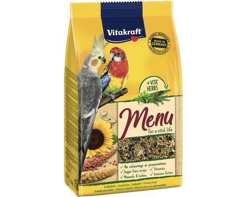 Nourriture pour petits psittacidés et grandes perruches