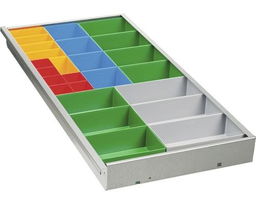 Compartiment pour tiroirs 25 cases