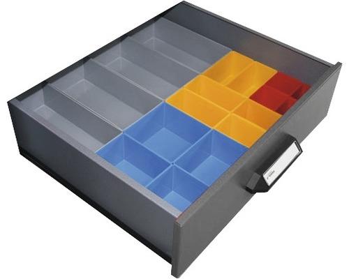 Compartiment pour tiroirs 18 cases