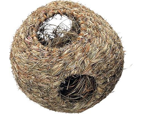 Boule nid en foin Karlie grand modèle 16cm