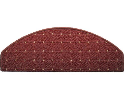 Marchette d''escalier Aachen rouge 28x65 cm