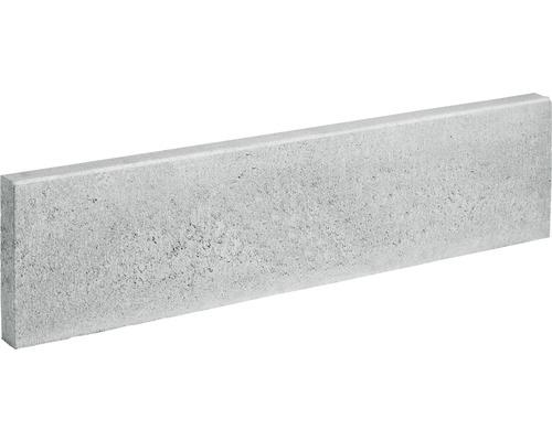 Bordure pour gazon de gazon grise 100x25x6cm