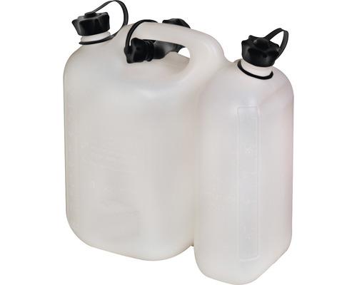 Bidon double pour carburant 3l et 5,5l