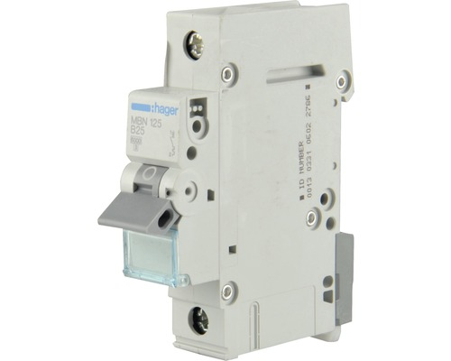 Disjoncteur Hager MBN 110 10A B 6kA 1 pôle