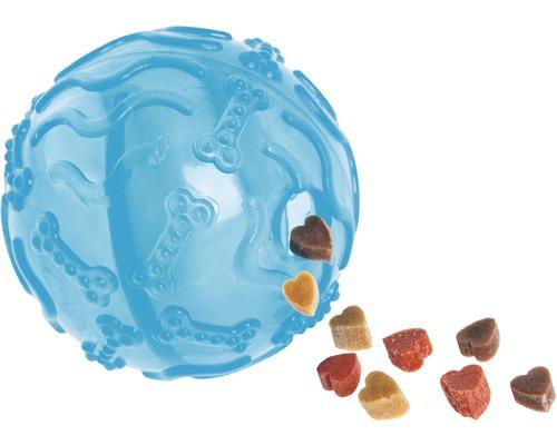 Snack Ball TPR 8 cm, rangé par couleur