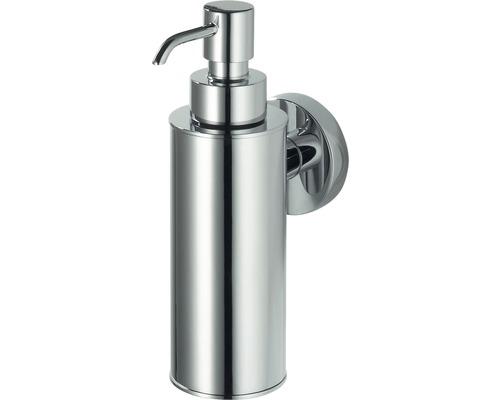 Distributeur à savon avec support Haceka Kosmos métal chromé