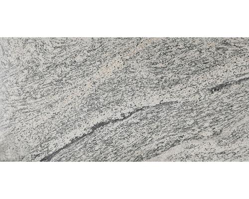 Dalles de sol blanches granit viscont 30,5x61 cm