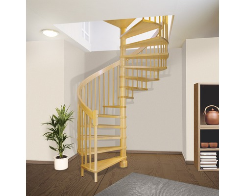 escalier spirale pallas 14 marches h tre 160 cm hornbach luxembourg. Black Bedroom Furniture Sets. Home Design Ideas