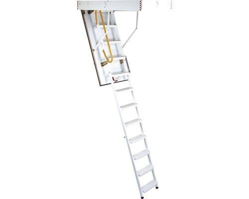 Escalier escamotable en acier Pertura® Jarda 120 x 60 cm
