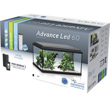 Aquarium Advance LED sans sous-meuble, noir-thumb-1