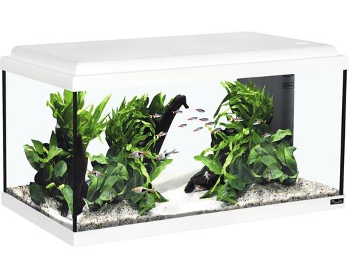 Aquarium Advance LED sans sous-meuble, blanc