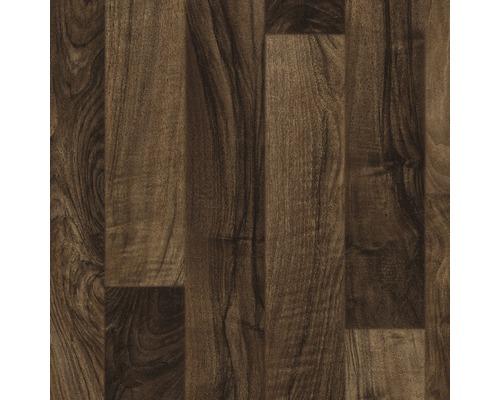 PVC Iris décor parquet lamellé marron largeur 400cm (marchandise au mètre)