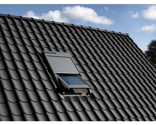 volet roulant velux avec entra nement solaire ssl yk87 hornbach luxembourg. Black Bedroom Furniture Sets. Home Design Ideas
