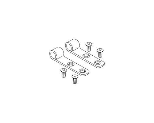 Charnière Pressalit acier inoxydable A 9108