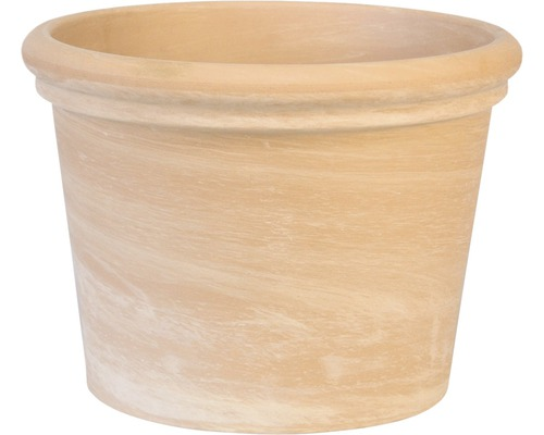 Pot de fleurs Spang terracotta Ø 24 H 18 cm terracotta