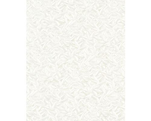 Papier peint intissé Harald Glööckler motif de plumes crème