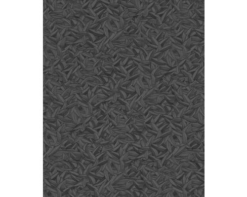 Papier peint intissé Harald Glööckler motif de plumes noir