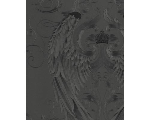 Papier peint intissé Harald Glööckler ailes d''ange noir