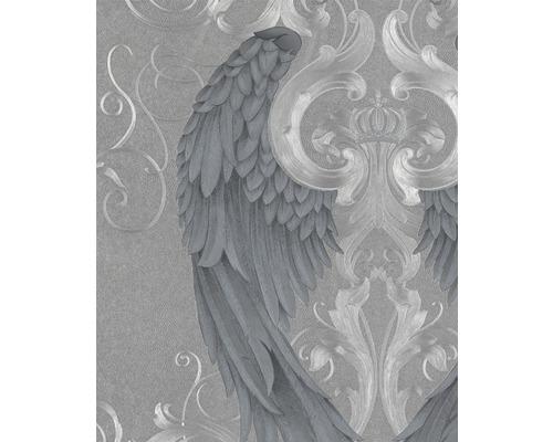 Papier peint intissé Harald Glööckler ailes d''ange argent
