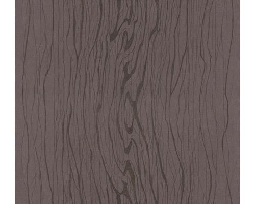 Papier peint intissé Colani VISIONS Veinure bois rouge foncé