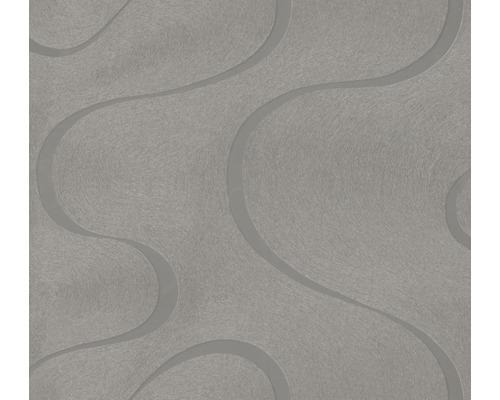 Papier peint intissé Colani VISIONS Motif de vagues boue