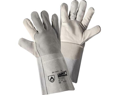 Gants de soudeur Arco-35 blancs, taille 10