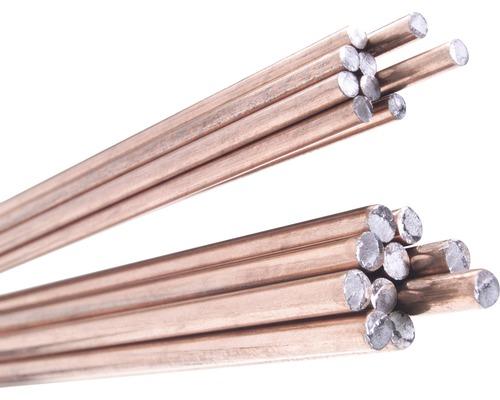 Fil de cuivre pour soudage autogène CFH Ø 3x1000 mm lot de 10