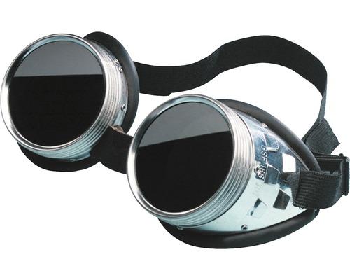 Lunettes de protection intégrales métal noir