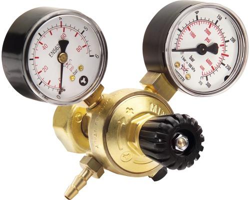 Réducteur de pression avec 2 manomètres CFH pour poste à souder àgaz DR 516