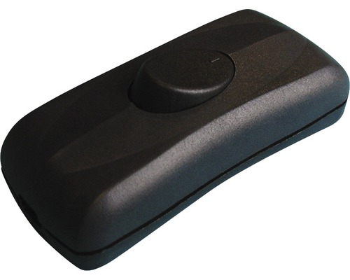 Interrupteur pour câble plat noir