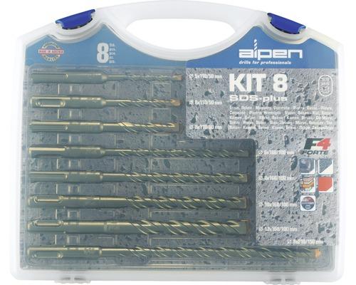 Marteau-perforateur SDS-Plus kit Alpen 8 pcs