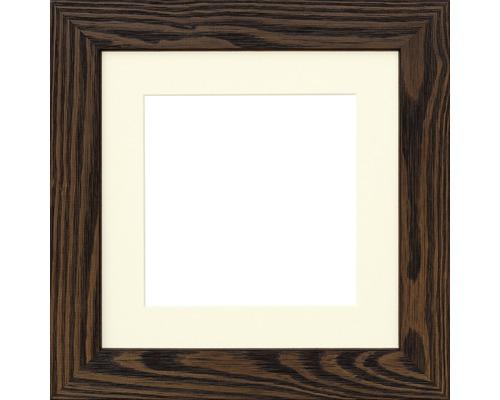Cadre en bois SANDRA palissandre 20x20 cm