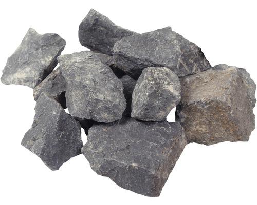 Pierres de taille (basalte) 60 - 120 mm 1 000 kg, gris