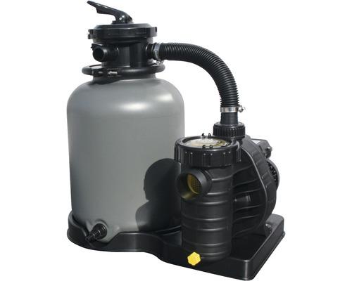 Filtre à sable SF 133, 6m³/h, avec vanne de tuyauterie