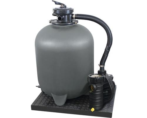 Filtre à sable SF 152, 11m³/h, avec vanne de tuyauterie